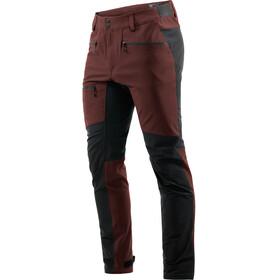 Haglöfs M's Rugged Flex Pants Maroon Red/True Black